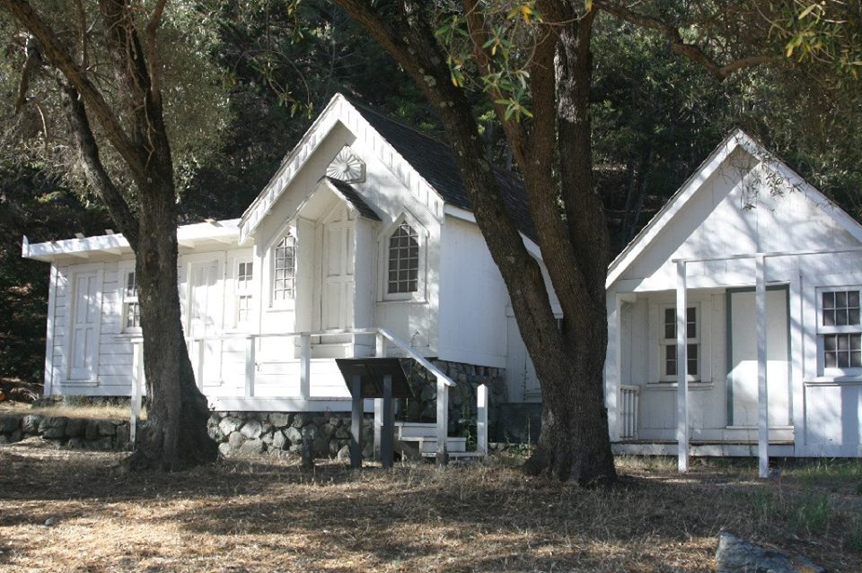 art in the park retreat at Joaquin Miller Park