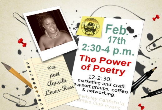 Aqueila Lewis-Ross Shares the Power of Poetry February 17th