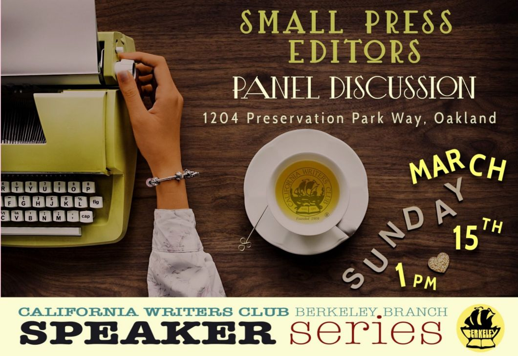 March small press editors event