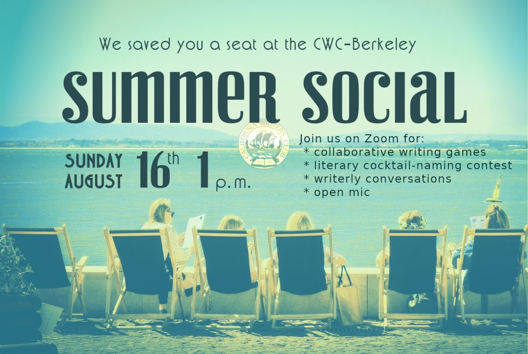Summer Social Sunday August 16th at 1 p.m.
