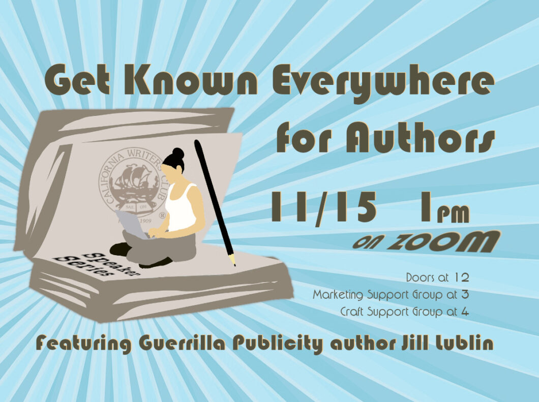 Get Known Everywhere for Authors featuring Jill Lublin: November 15th