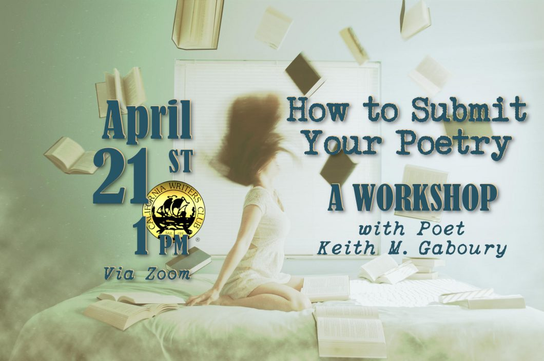 How to Submit Your Poetry—a Workshop with Keith Mark Gaboury