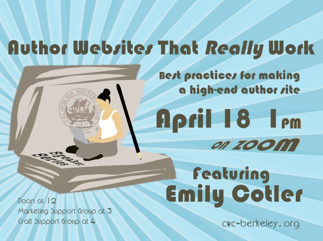 April 18th Join Emily Cotler on Author Websites that Really Work