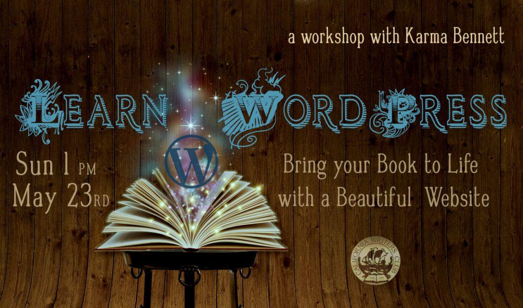 Learn WordPress: a Workshop with Karma Bennett