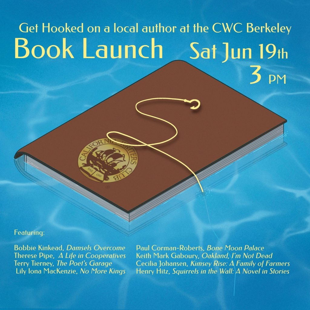 Get Hooked on a Local Author at the CWC Annual Book Launch—6/19/20