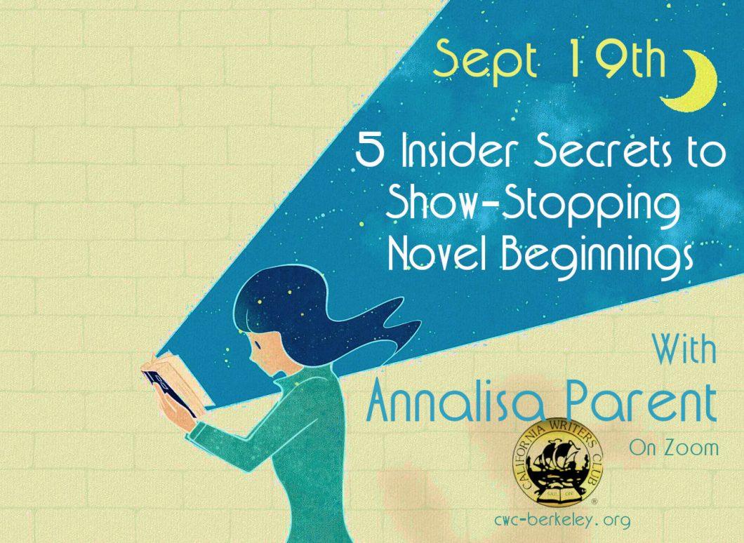 5 Insider Secrets to Show-Stopping Novel Beginnings
