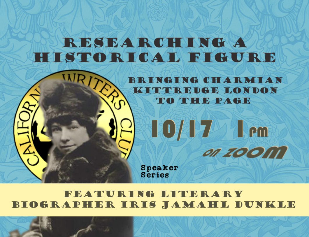 Researching a Historical Figure: Bringing Charmian Kittredge London to the Page